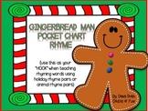 Gingerbread Man Rhyming Hook