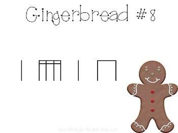 Gingerbread Man Rhythm Scavenger Hunt