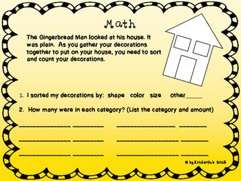 Gingerbread Man STEAM {FREEBIE}