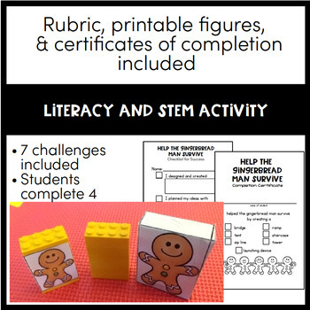 Gingerbread Man STEM Activites - Choose Your Own STEMventure