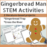 Gingerbread Man STEM Activities with Student Booklet