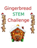 Gingerbread Man STEM activity