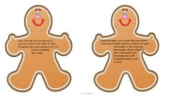 Gingerbread Man Scavenger Hunt