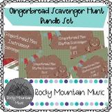 Gingerbread Man Scavenger Hunt Bundle Set