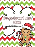 Gingerbread Man School Hunt