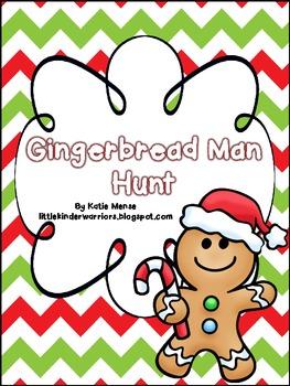 Gingerbread Man School Hunt