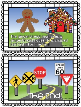 Gingerbread Man Sees Signs and Shapes (Emergent Reader)