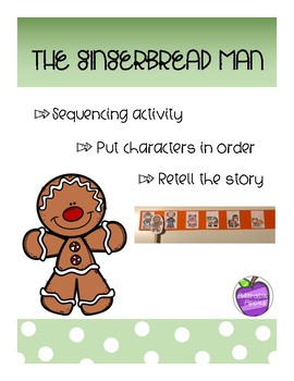 Gingerbread Man Sequence Activity