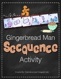 Gingerbread Man Sequencing Activity  ***Also in my Gingerbread Man MEGA PACK***