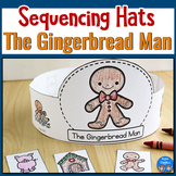 Gingerbread Man Sequencing Hats