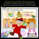 Gingerbread Man Sequencing Mats