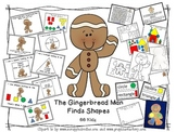 Gingerbread Man Shape Booklet/ Activities/ Craft/ Build a House/Shapes