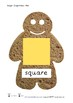 Gingerbread Man Shape Posters