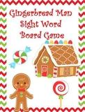 Gingerbread Man Sight Word Games