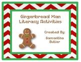 Gingerbread Man Sight Word Race