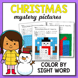 Gingerbread Man Sight Words  - Christmas Activities for 1st Grade