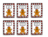 Gingerbread Man Site Words