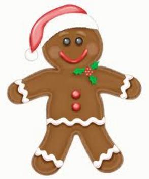 Gingerbread Man Smartboard Activity