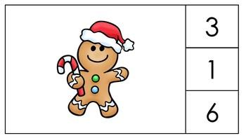 Gingerbread Man Spatial Relationships