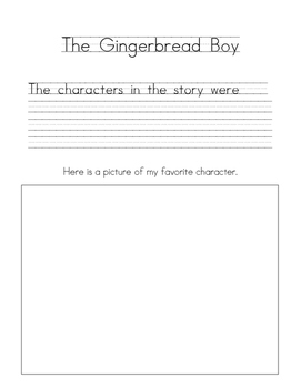 Gingerbread Man Stories - Learning Journey Responses!