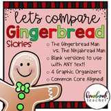 Gingerbread Man Compare and Contrast Story Structure RL.2.5 RL2.9