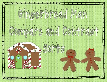 Gingerbread Man Story Comparisons
