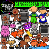 Gingerbread Man Clipart {Creative Clips Clipart}