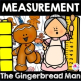 Math Center Christmas Gingerbread Man Story Measurement