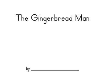 Gingerbread Man Storybook for Kindergarteners
