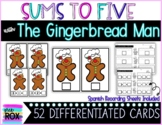 Gingerbread Man: Sums 1 to 5