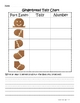 Gingerbread Man Tallying & Graphing