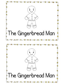 Gingerbread Man Tear Book