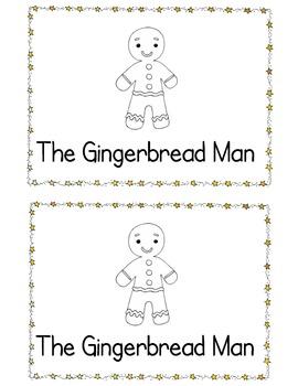 Gingerbread Man Tear Book