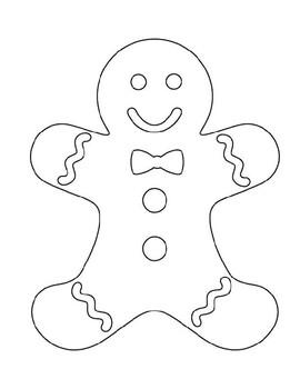 Gingerbread Man Templates