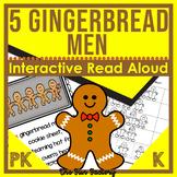 The Five Gingerbread Men Activities and Sequencing   Interactive Read Aloud
