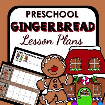 Gingerbread Man Theme Preschool Lesson Plans - Gingerbread Man Activities
