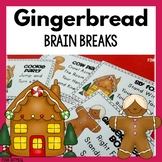 Gingerbread Man Themed Brain Breaks