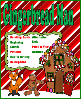 Gingerbread Man Themed Packet
