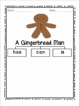 Gingerbread Man Tree Map