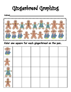 Gingerbread Man~Complete Math and Literacy Unit