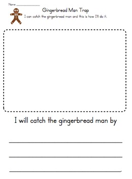 Gingerbread Man Unit Activities by Keri Tisher | TpT