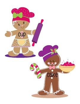 Gingerbread Man Unit Literacy Center Activities