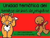 Gingerbread Man Unit in Spanish
