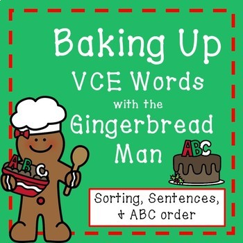 Gingerbread Man VCE words