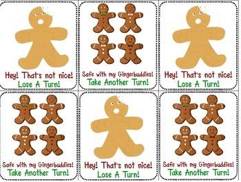 Gingerbread Man Literacy: CVC & Silent E Game