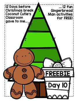 Gingerbread Man Verb Tense Sort {Suffix -s and -ed}