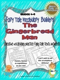 FREE! Gingerbread Man Vocabulary Builders Grades 4-6