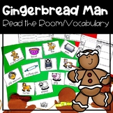 Gingerbread Man {Vocabulary/Read the Room Activity}