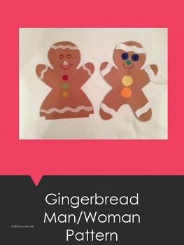 Gingerbread Man/Woman Pattern
