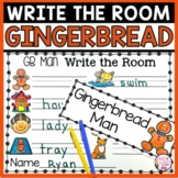 Gingerbread Man Write the Room